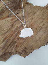 Sterling silver hedgehog - Anna Ancell Jewellery