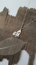 Sterling silver Butterfly pendant with hand pierced details - Anna Ancell Jewellery