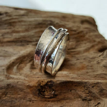 Sterling Silver worry/spinner ring - Anna Ancell Jewellery