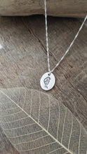 Fine silver pendant with bird detail - Anna Ancell Jewellery