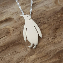 Sterling silver Penguin - Anna Ancell Jewellery