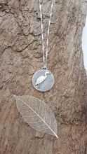Sterling Silver 'Heron' pendant - Anna Ancell Jewellery