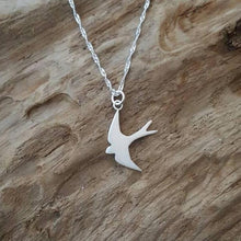 Sterling silver Swallow - Anna Ancell Jewellery
