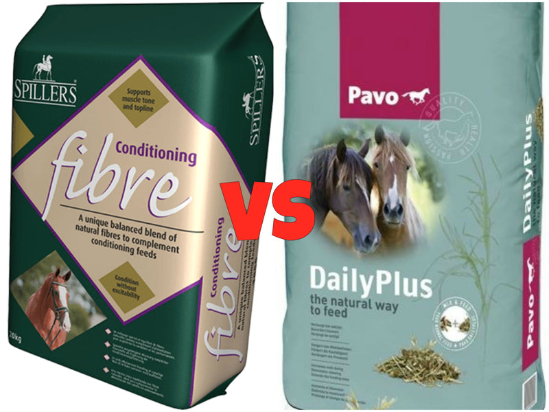 Blog Post 5: Spillers Conditioning Fibre VS Pavo Daily Plus