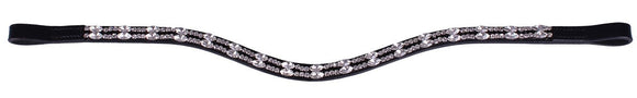 QHP ''Silver Veronica'' Browband
