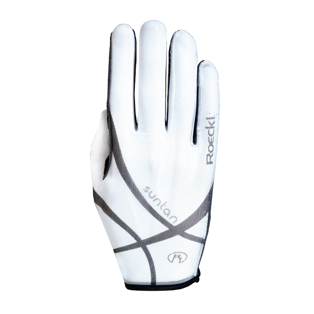 Roeckl ''White Laila'' Summer Riding Gloves