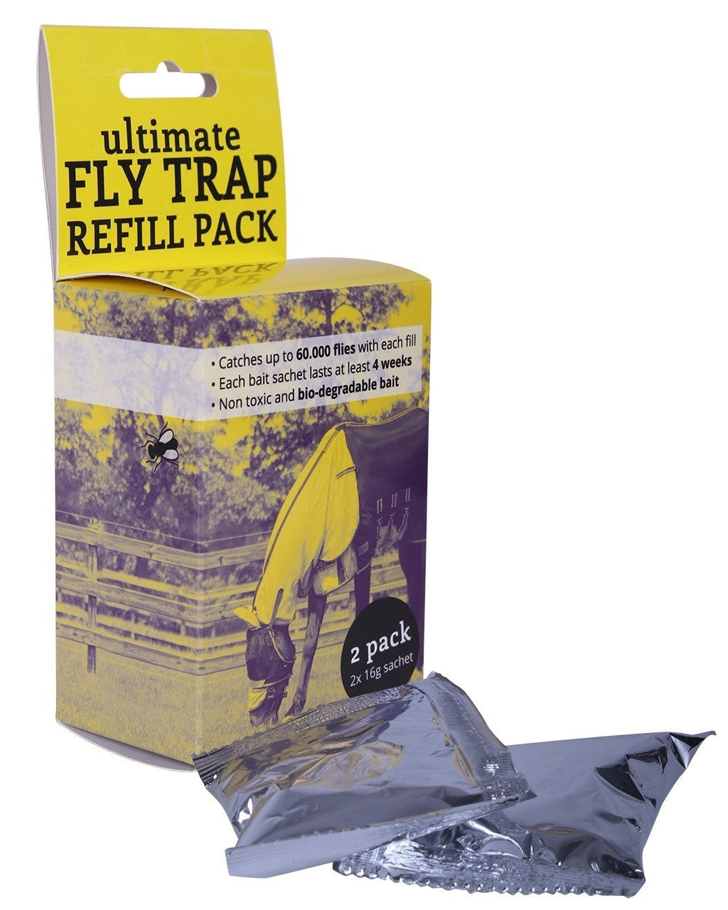 QHP ''Fly Trap'' Bait Re-fill