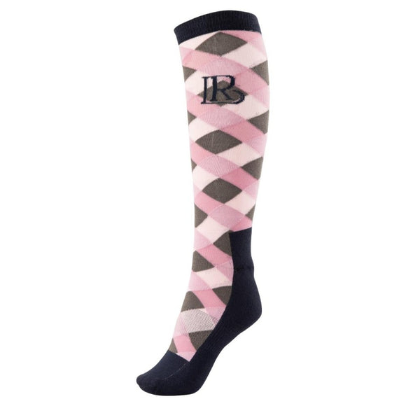 BR ''Mauve Mist Orazio'' Riding Socks