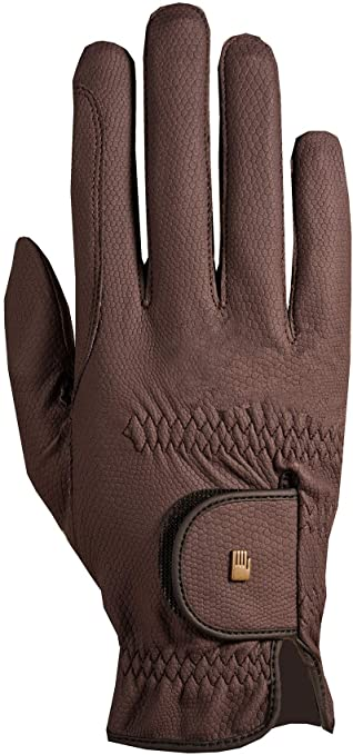 Roeckl ''Mocha Roeck-Grip'' Riding Gloves