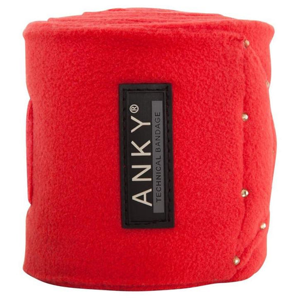 ANKY ''Flaming Scarlett'' Fleece Bandages SS19