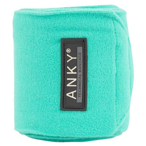 ANKY ''Teal Green'' Fleece Bandages SS20