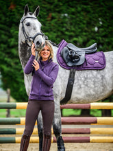 Load image into Gallery viewer, PS of Sweden ''Plum Ruffle'' General Purpose Saddle Cloth