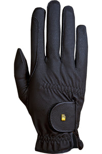 Roeckl ''Black Roeck-Grip'' Riding Gloves