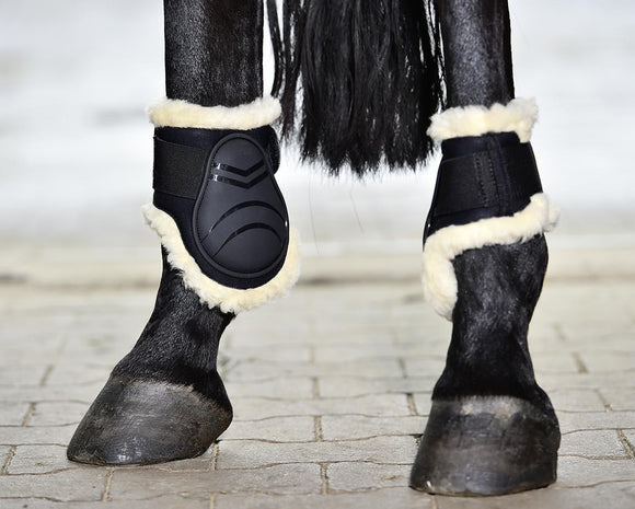 Busse ''Black Bounce Art-Fur'' Fetlock Boots