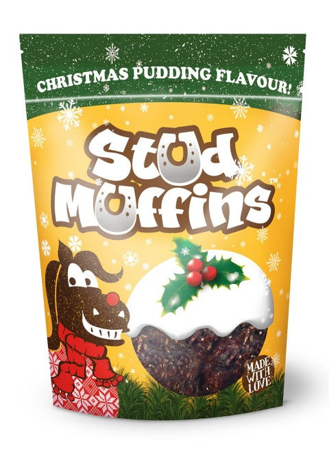 Stud Muffins ''Christmas Pudding'' Treats