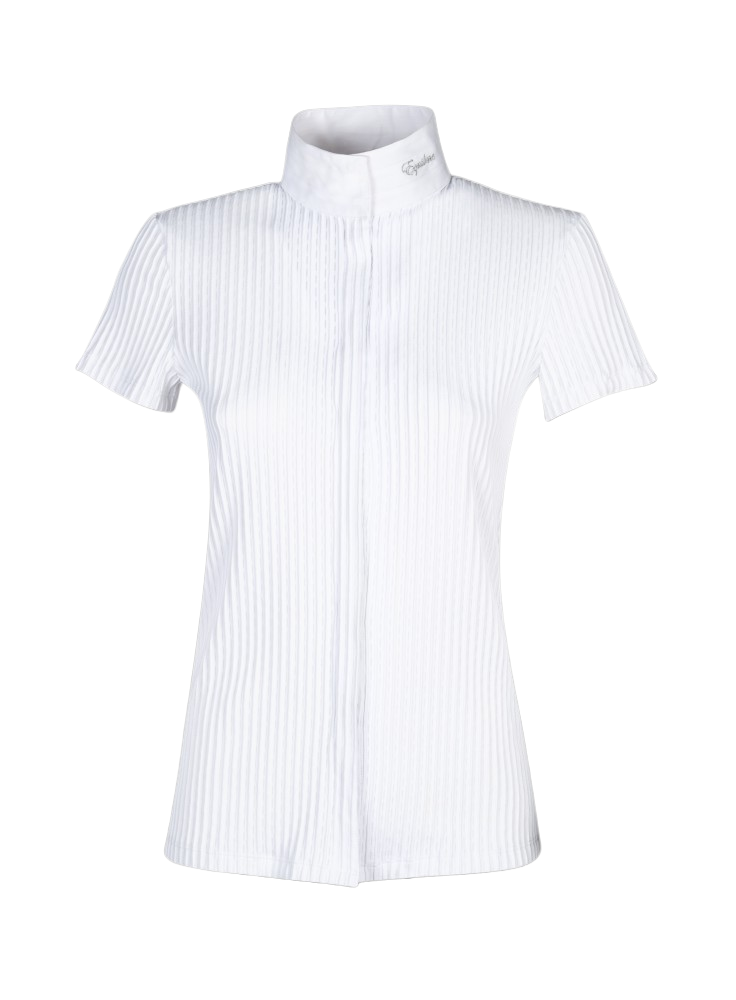 Equiline ''White Cecil'' Competition Shirt