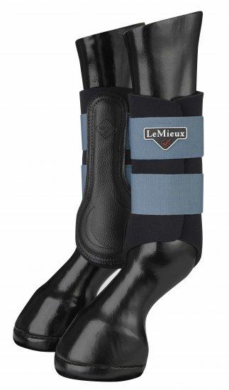 LeMieux ''Ice Blue Grafter'' Brushing Boots