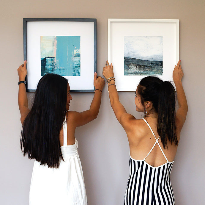 HOW TO CREATE A STYLISH BUT SIMPLE GALLERY WALL