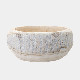 AYLA WOODEN BOWL - HUNTER & CO.