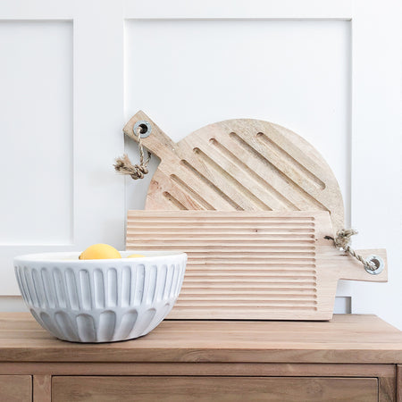 ASHTON WOODEN CHOPPING BOARD (LONG)