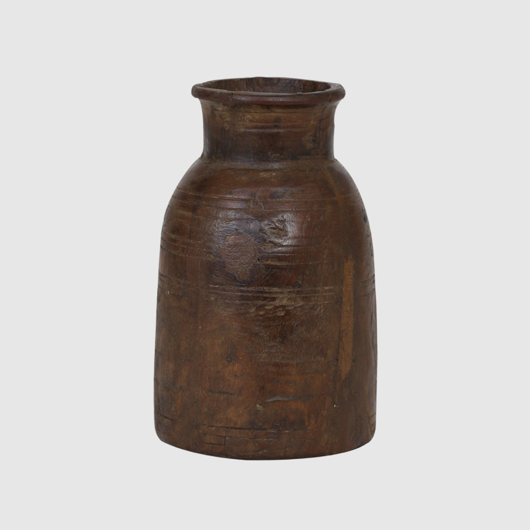 DENYA WOODEN JAR - HUNTER & CO.