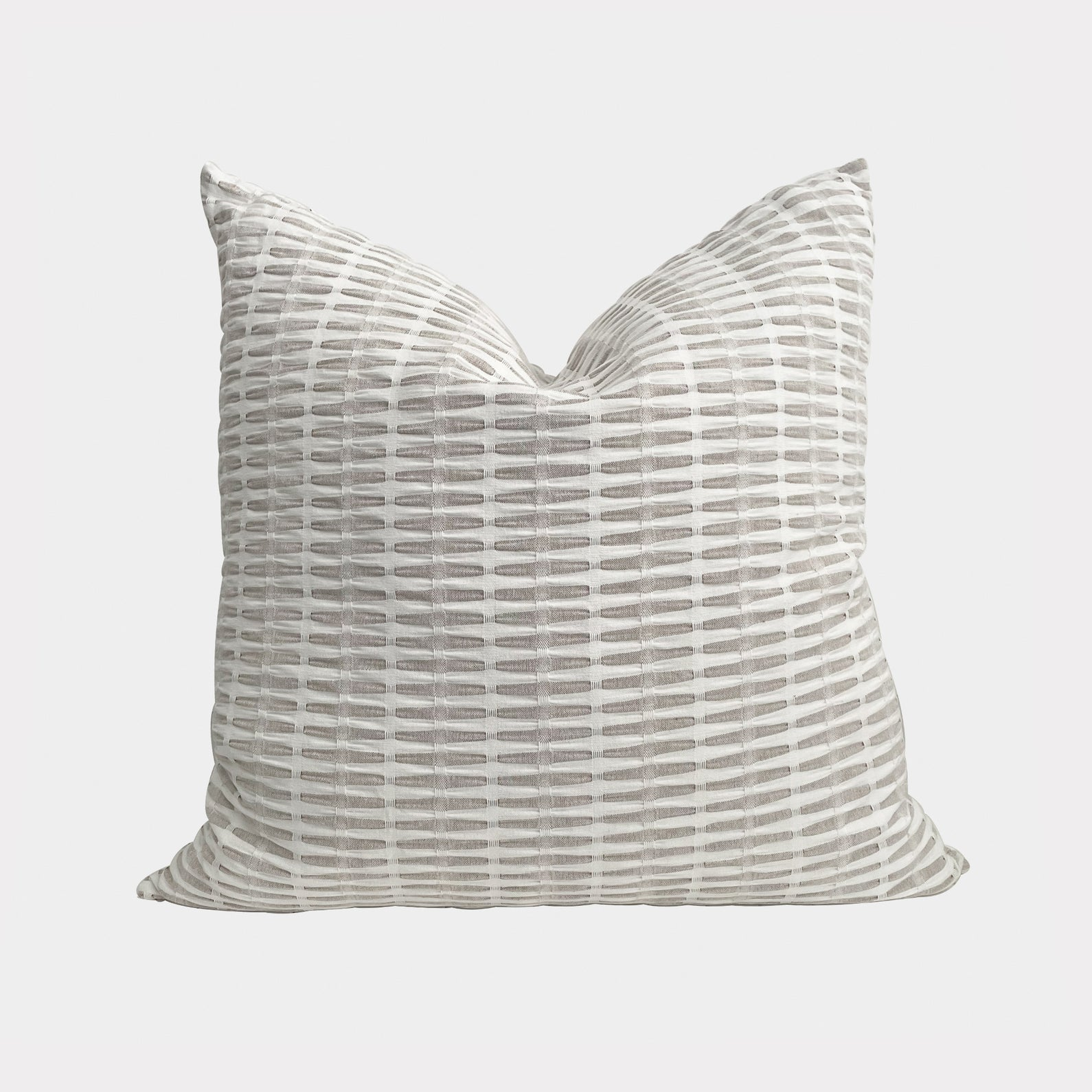 HALLE IN SEPIA CUSHION WITH INSERT
