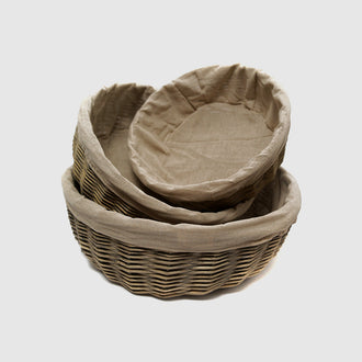 HYDE ROUND BASKET - HUNTER & CO.