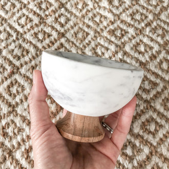 ELLE SMALL MARBLE BOWL