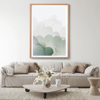 JOYOUS CLOUDS ART PRINT