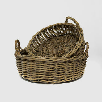 MARA BASKET WITH HANDLE - HUNTER & CO.