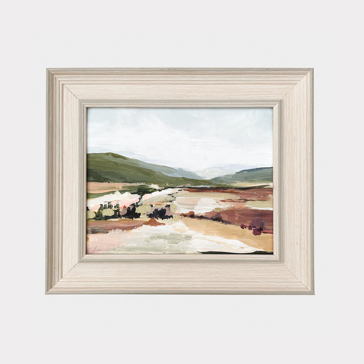OLIVE HILLS PRINT ON CANVAS