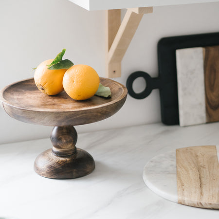 HENLEY WOODEN CAKE STAND