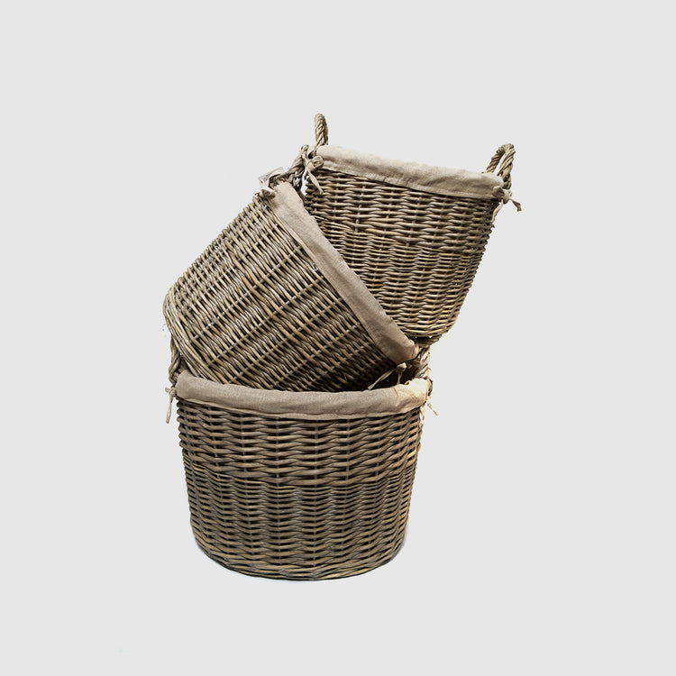TALIA OVAL BASKET - HUNTER & CO.