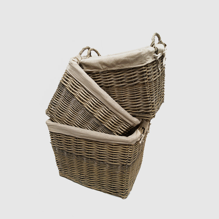 TALIA RECTANGULAR BASKET - HUNTER & CO.