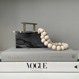 YARA GREY MARBLE BOX