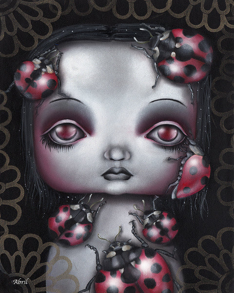"Lady Bug Girl 8x10"" Signed Print"