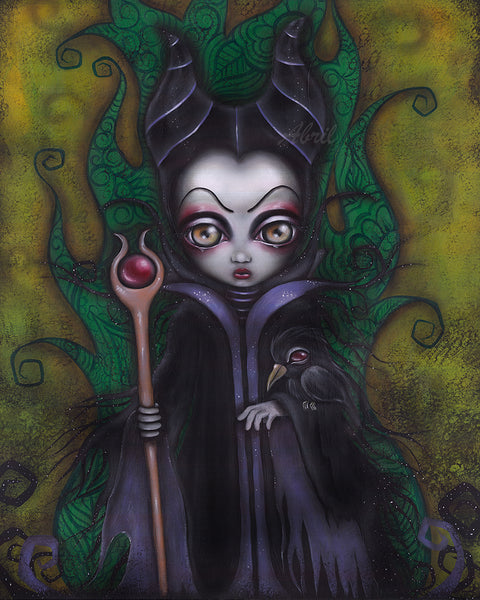 "Maleficent 8x10"" Signed Print"
