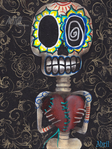 "Toma mi corazon Dead Day of the Dead - 8x10"" Signed - Print"