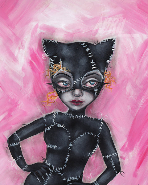 "Cat Woman - Batman  8x10"" Signed Print"
