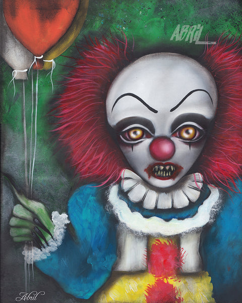 "It Pennywise - Clown  8x10"" Signed Print"