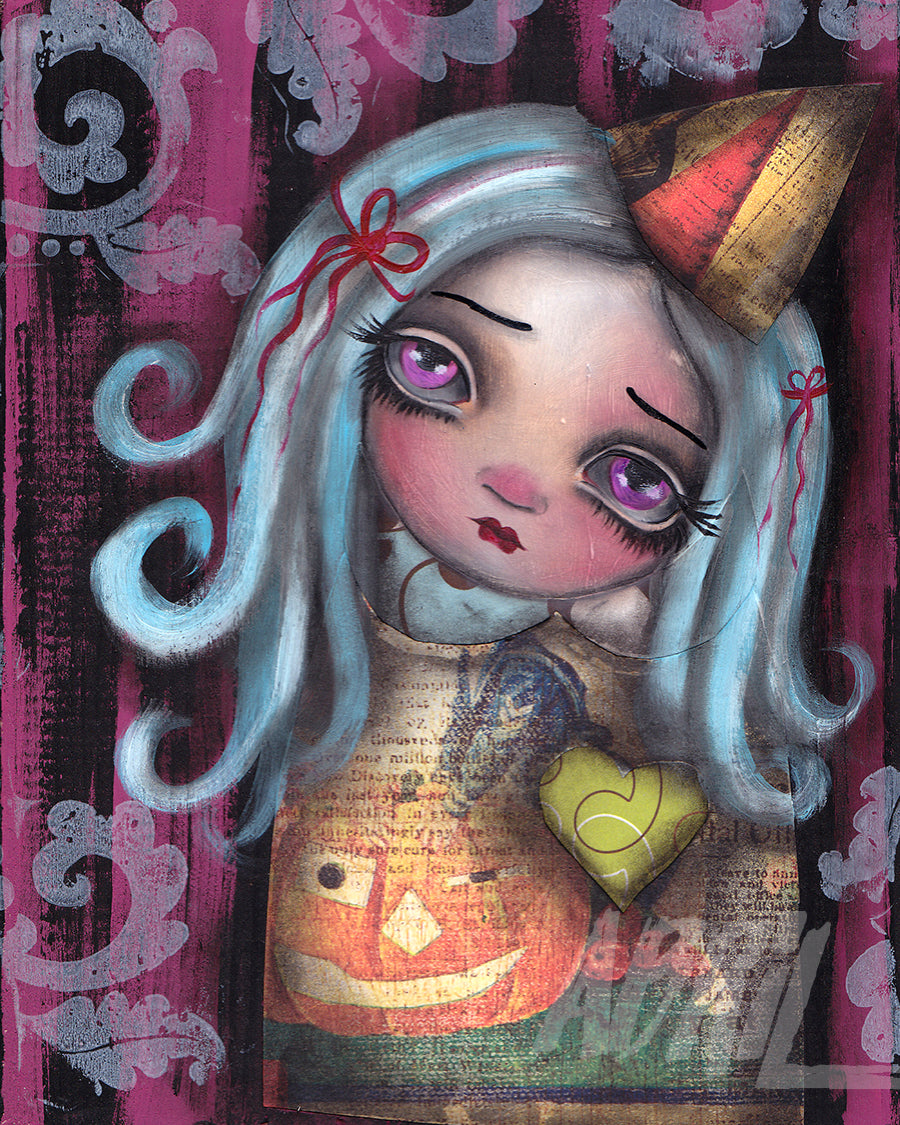 "Whimsy Girl - 8x10"" Signed - Print"