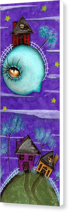 Looking Over You - Canvas Print