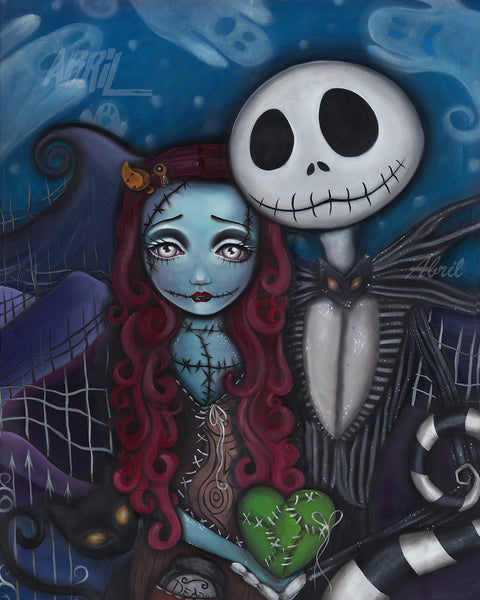"Nightmare Before Christmas   8x10"" Signed Print"