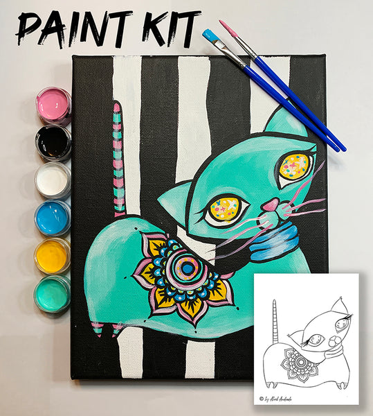 Cat Paint Kit - Abril Art