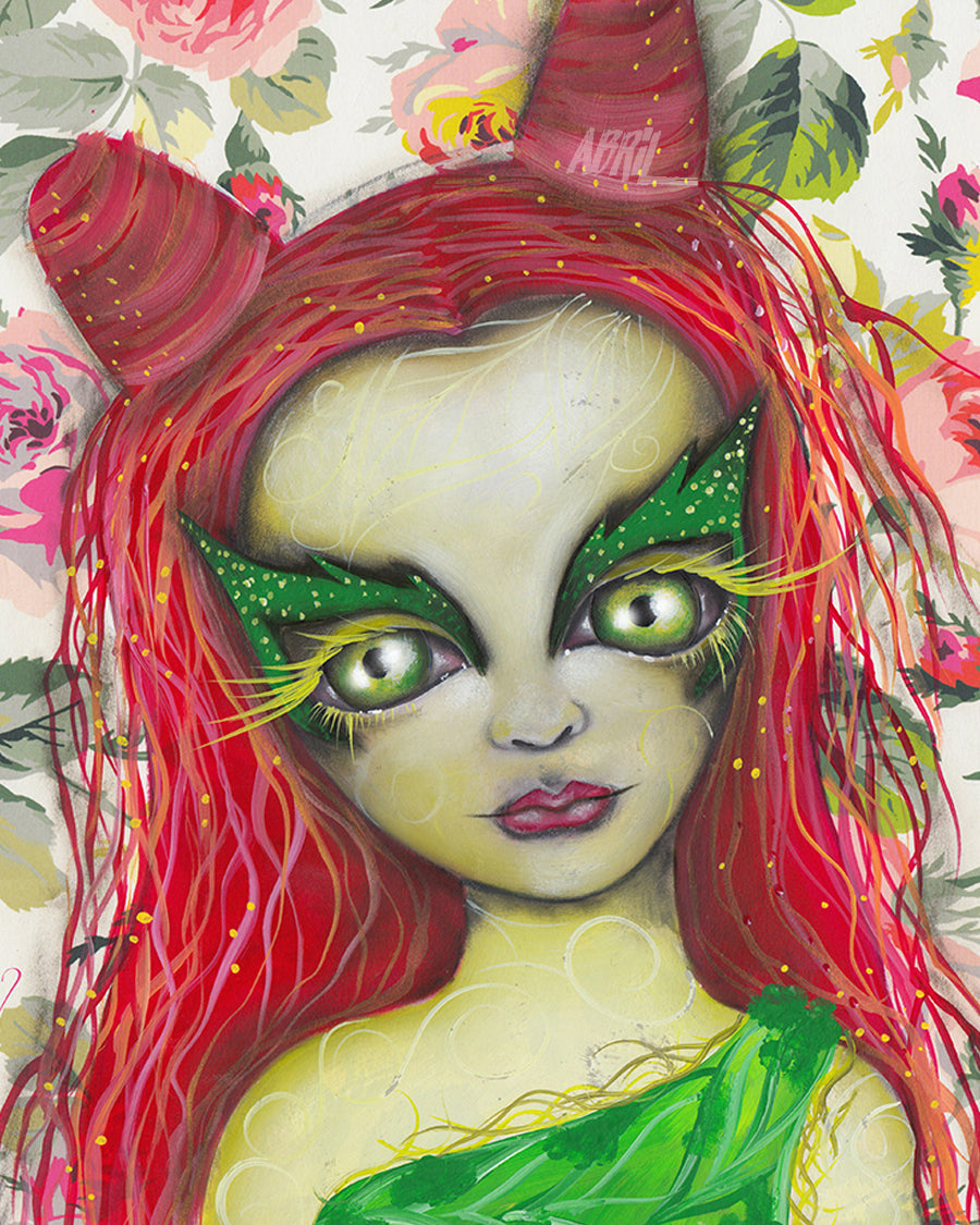 "Poison Ivy   8x10"" Signed Print"