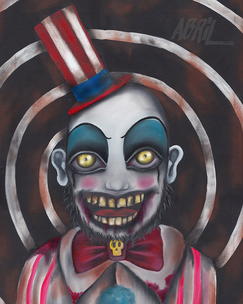 "Captain Spaulding - Clown  8x10"" Signed Print"