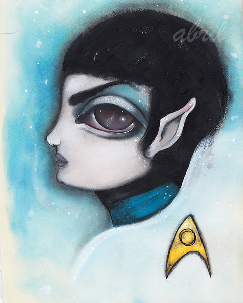 "Spock 8x10"" Signed Print"