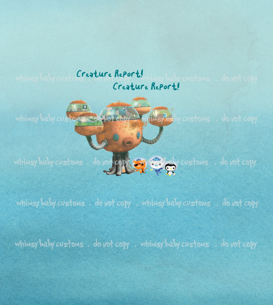 C001 Child Panel Octonauts Creature Report