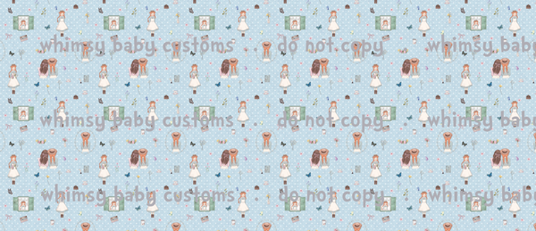 Books April 2021 Preorder - Anne of Green Gables Main Fabric