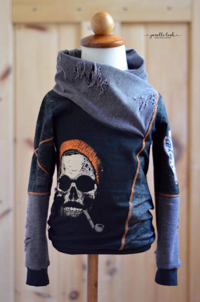 384 Hipster Skeleton Child Panel